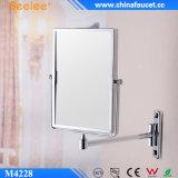 Le rectangle en laiton 3X magnifient le miroir cosmétique décoratif