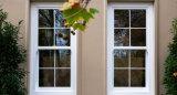 Teinte en aluminium Windows en verre vertical de profil de vente chaude