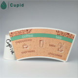 PE Coated Cup Paper di Hztl Customized Size Food Grade Disposable Single per Paper Cup