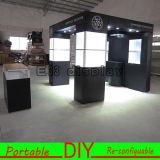 Étalage modulaire de stands d'exposition, présentoir de salon de cabine d'exposition