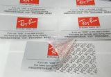 Barcode печатание Cmyk и ярлык стикера прилипателя