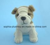 15cmのChiidrenのギフトとして柔らかい詰められたプラシ天犬のおもちゃ