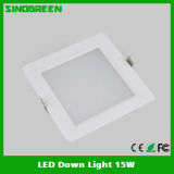 세륨 FCC RoHS High Quality LED Down Light 15W