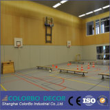 Hauptdekoration-Schallschutz-hölzernes Bauholz-akustische Panels