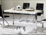 (DT12) de Eenvoudige Stoelen van de Eettafel van het Metaal van het Ontwerp die voor Verkoop worden geplaatst