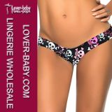 Ladies Clothes Beach Swimsuit Thong (L91290-6)