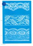 Laço não elástico para a roupa/vestuário/sapatas/saco/caso F203 (largura: 1.4CMM a 24cm)