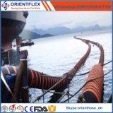 Distribuidor de dragado flotante del manguito del infante de marina de goma flexible de la descarga