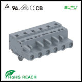 IEC 250V 12A 2.5mm del connettore di Supu MCS Femal