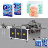 Tissu mou empaquetant la machine à emballer de papier de soie de soie faciale