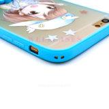 Nuevos móvil de los diseños florales TPU/caja del teléfono celular con el sostenedor del anillo
