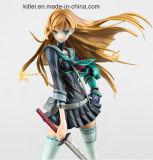 """Figurine plástico do OEM do modelo do filme da modelagem por injeção do Figurine """"sexy"""" japonês da ação da menina"""