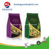 Custom impresso Matte Black folha de alumínio Food Stand up Embalagem Sacos
