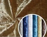 Tela italiana da cortina da tela de veludo da flor do gelo
