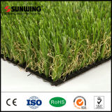 Dekorativer grüner natürlicher Balkon-künstlicher Gras-Teppich mit SGS-Cer