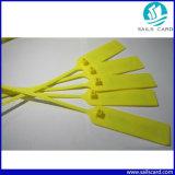 Tag eletrônico do selo do cabo da freqüência ultraelevada RFID do PVC