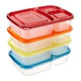 3 de Container van de Opslag van het Voedsel van de Rang van het compartiment
