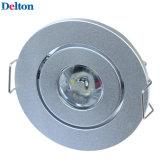 2W円形のBull目LEDのキャビネットライト(DT-CGD-009)