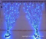 크리스마스 결혼식이 LED 커튼 훈장에 의하여 점화한다