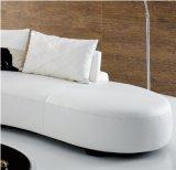 L moderne sofa de cuir de forme pour l'usage de Chambre (SF020)