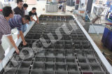 Hoher Stabilitäts-Salzlösung-Abkühlung-Block-Eis-Hersteller