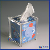 Transparente Transparente Transparente Acrylic Tissue Box Cover Holder