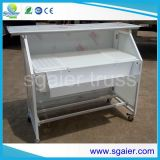 Logo, Cheap Outdoor Bar Sets, Luxurious Leather Travel Bar Set를 가진 똑바른 LED Bar Counter Set