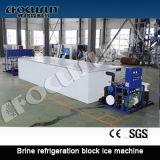 Alto creatore del ghiaccio in pani di refrigerazione della salamoia di stabilità