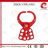 Cerrojo de acero económico durable rojo seguro usado con el candado de la seguridad