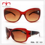 유행과 Hot Sales Ladies Bifocal Lens Plastic Sunglasses (WRP412161)