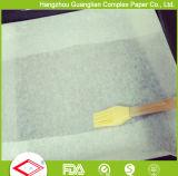 Tamanho quente 400mmx600mm e 450mmx 750mm Papel de pergaminho de cozimento de silicone