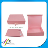 Aceptar la Orden de Encargo y de Lujo Plegable Caja de Papel Caja de Ropa de Mujer