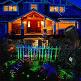 Luz ao ar livre do jardim do laser da sensação nova da luz de Natal