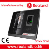 Comparecimento facial biométrico do tempo do reconhecimento de Realand