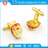 Personalizzare Copper Gold Plating Cufflink per Gifts