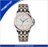 ステンレス鋼のSwis Movtの水晶有名なブランドの人の腕時計