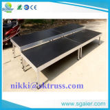 Aluminum Alloy와 Plywood Material를 가진 모듈 Audience Seating Audience Riser