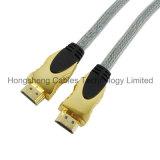 кабель V2.0 металла HDMI 15m высокоскоростной поддерживает 2160p 3D