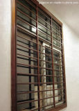 Guangdong revestido de polvo parrilla de ventana de aluminio