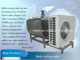 500L Milk Cooling Tank con Open Top