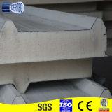 Ignifuger et panneau de toit de sandwich à la mousse de polyuréthane d'isolation/unité centrale