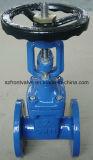 BS5163 Roheisen-/duktiles Eisen-elastischer Sitzgatter-Ventil-Steigender Stamm