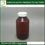 botella ambarina plástica del animal doméstico 275ml para las cápsulas
