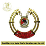 Chain、Antique Brass FinishのMedallionの記念品Carnival Medal
