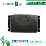 30A, 12V/24V, LED-Solarcontroller