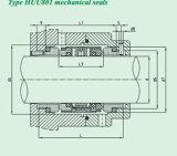 Selo mecânico padrão da Multi-Mola (HUU801)
