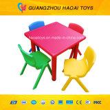 熱い販売のプラスチック表は幼稚園(A-08904)のためにセットした