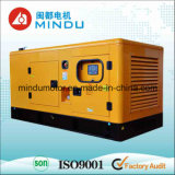 Conjunto de generador diesel silencioso del alto rendimiento 120kw Weichai
