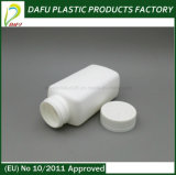 бутылка микстуры белого цвета HDPE 190ml пластичная