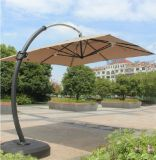 Alu. De hangende Vouwbare Paraplu van de Tuin van het Zonnescherm van het Strand